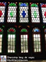 Los vitrales del Naranjestan