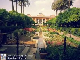 El palacio Naranjestan de Shiraz