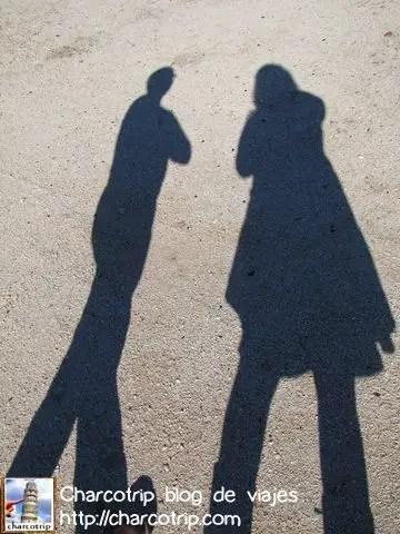 Jugando con las sombras...