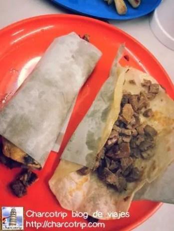 Tacos de harina