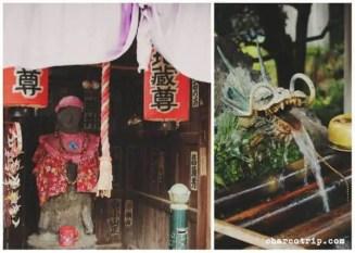 Osazuke-jizo-son y Hyakudo-ishi