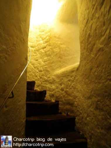 Las escaleras, allá vamos
