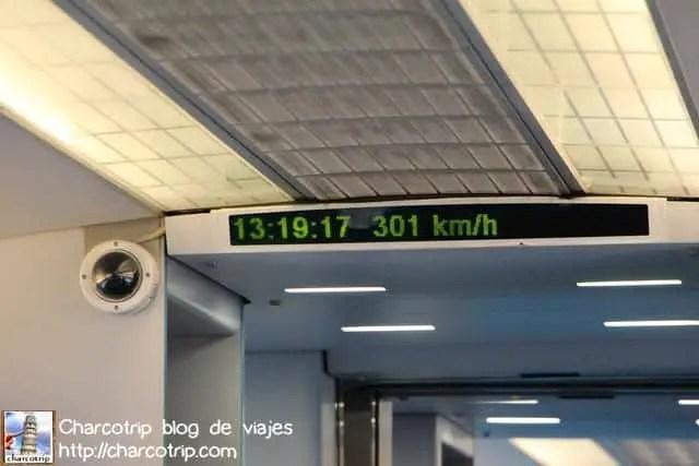 A 300km por hora