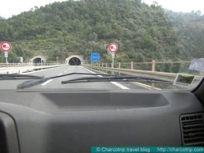 Ventimiglia llegada autopista