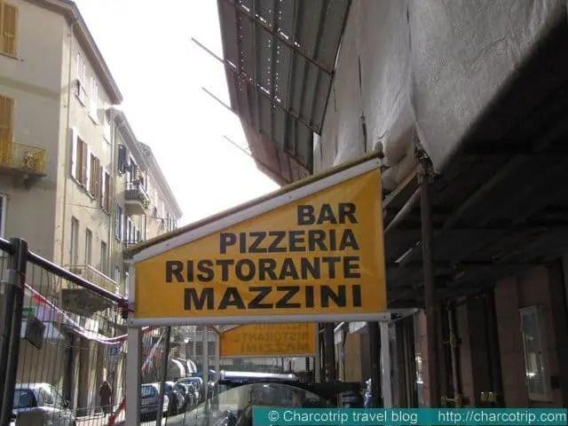 Ventimiglia Ristorante Mazzini
