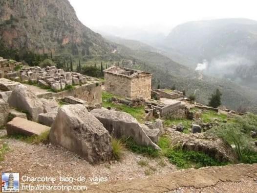 Vista en Delfos