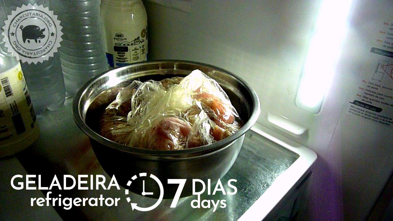 7 dias na geladeira
