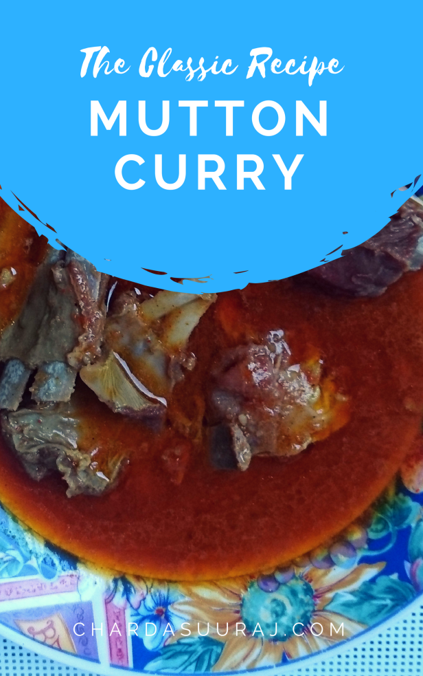 Mutton Curry Pin
