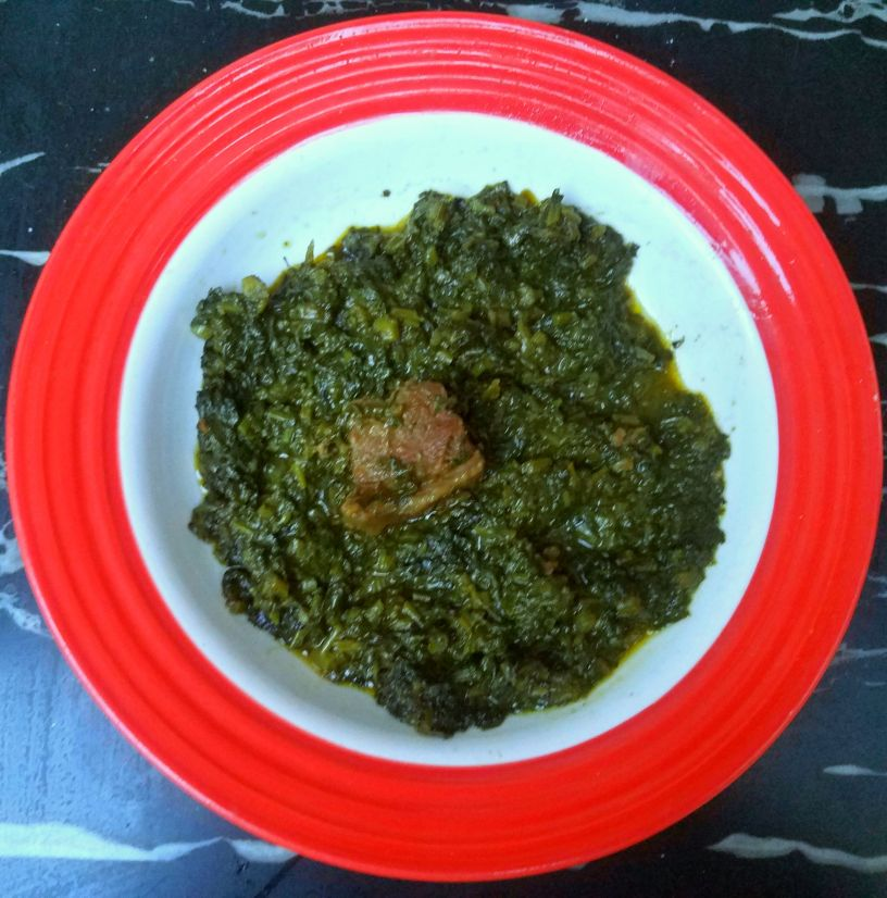 Spinach and Meat