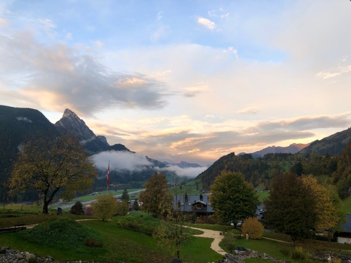Gstaad View from Huus
