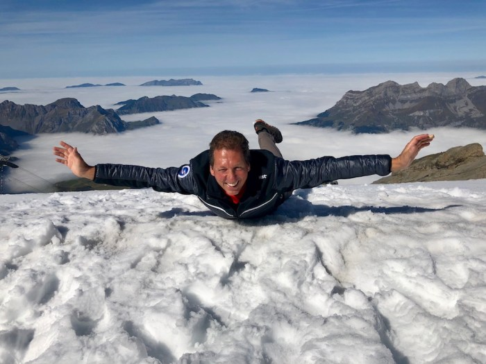 Flying high on Titlis