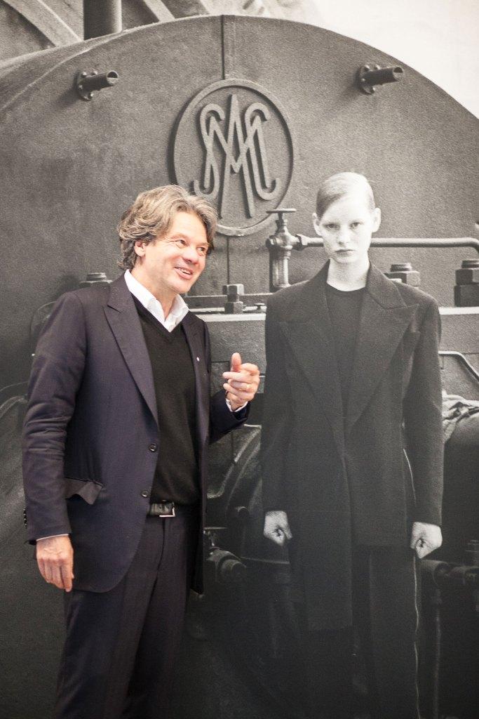 Kunstliebhaber Michael Käfer freut sich an Peter Lindbergh