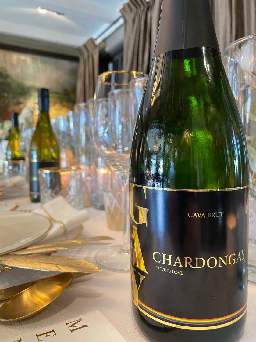 1 bottle Chardongay