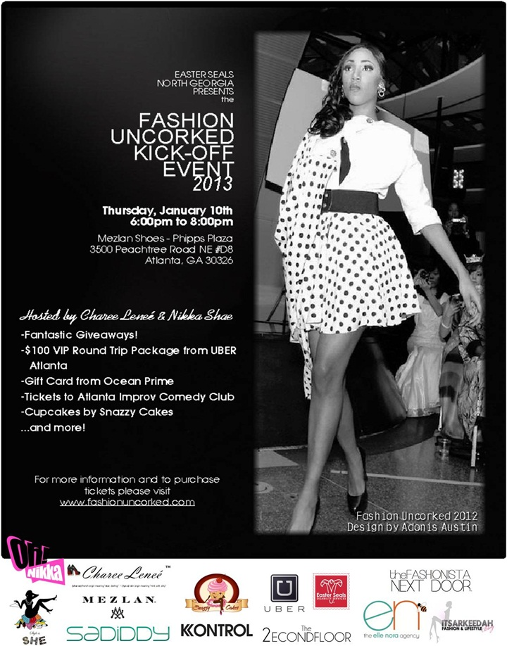 Fashion Uncorked Event Kick-Off Final 3Jan2013