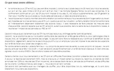 Covid-19: Un accord de branche signé au Crédit Agricole