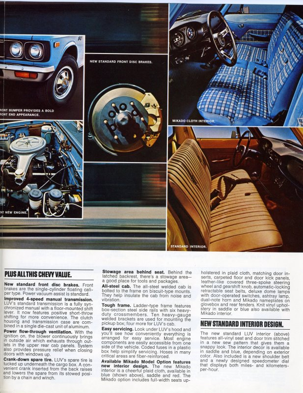 the cars family on the web part  1977 chevy luv advertisement page 3