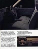 1988 Isuzu Pickup Brochure Interior