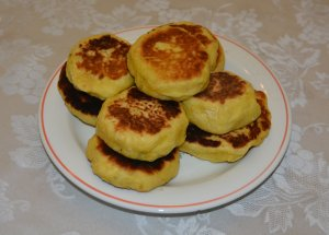 Sweet Pumpkin Korean Pancakes