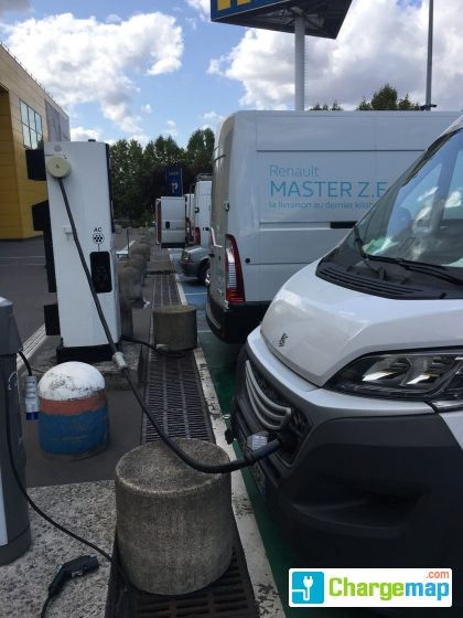 Ikea Villiers Sur Marne Quick Charging Station In Bry