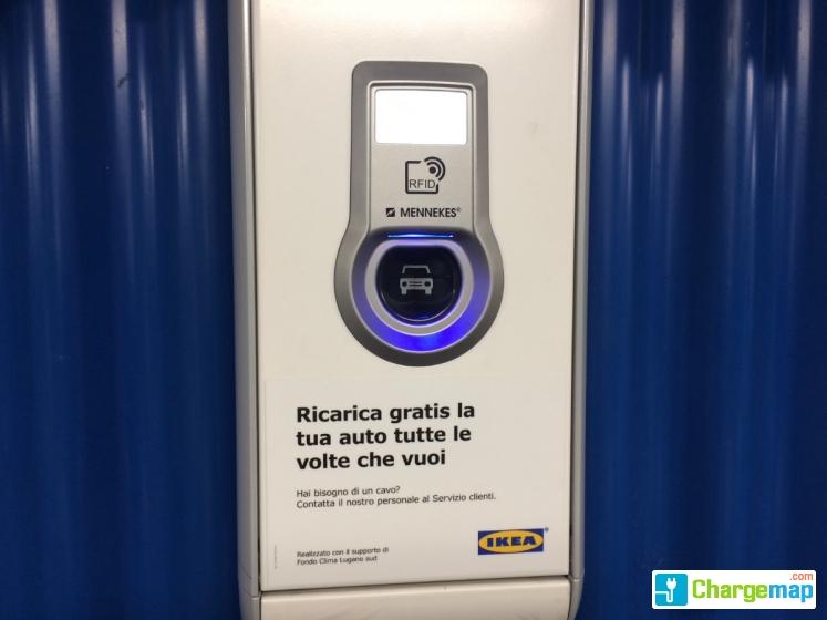 Ikea Grancia Charging Station In Collina Doro