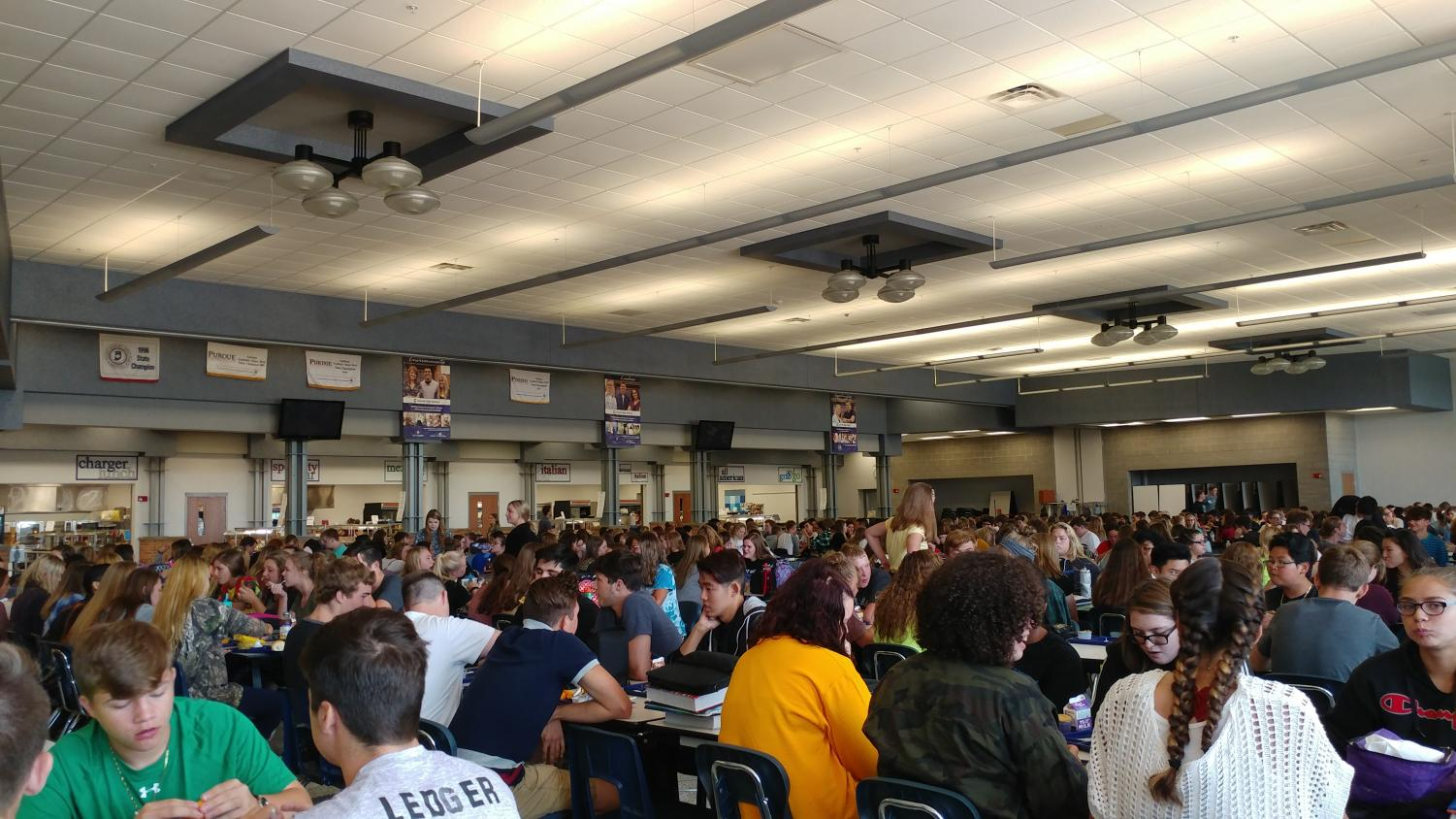 Crowding in the Cafeteria – The Charger Online