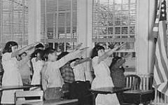 Pledge of Allegiance evolves to reflect era