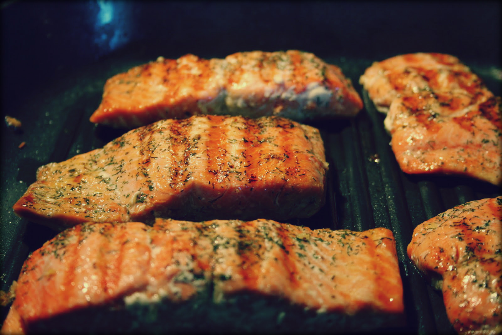 Champagne And Basil Grilled Salmon Char Griller Grills