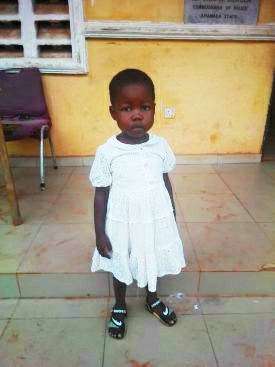 Police rescues a kidnapped little girl