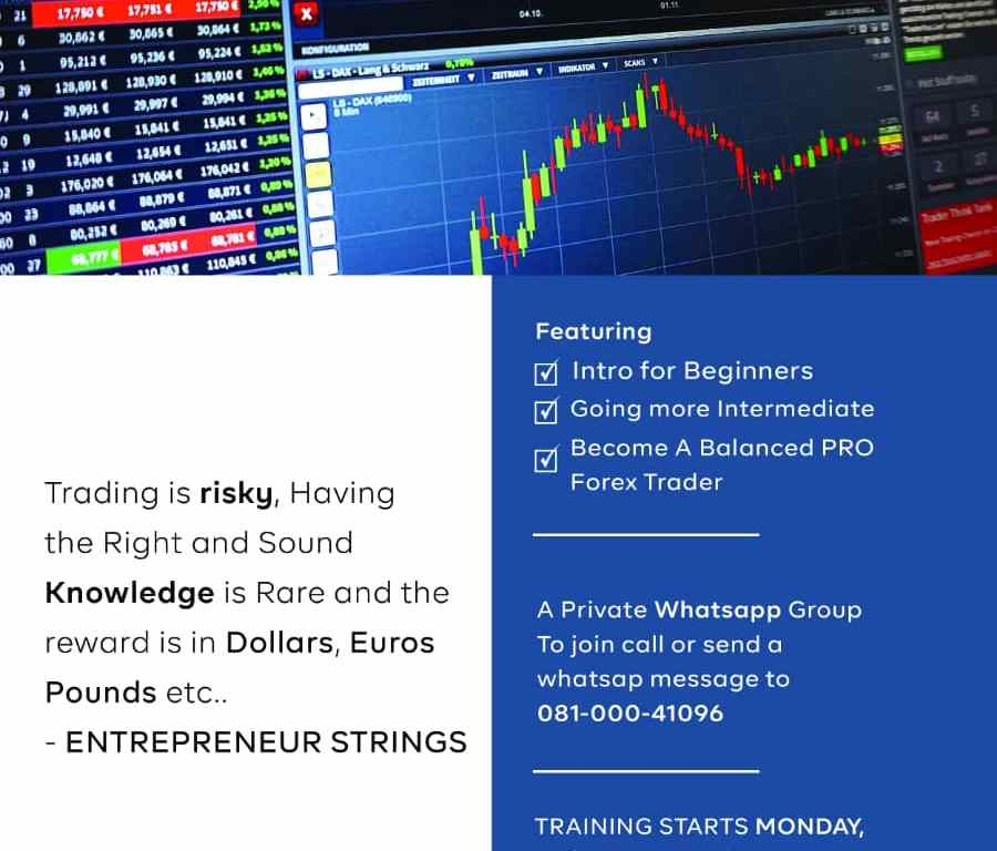 SPONSORED POST: Learn Forex For Free with your Smartphone. (Link To Join in Whatsapp Group)