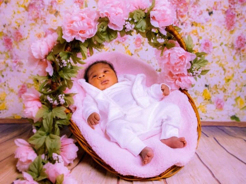 JUST-IN: See Mercy Johnson-Okojie's adorable photos of her baby, Divine-Mercy