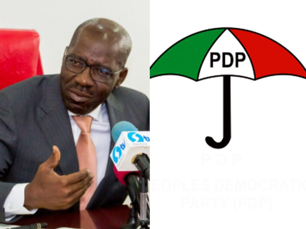 BREAKING NEWS: Governor Obaseki deflects to PDP