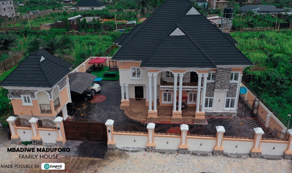 """BREAKING NEWS: """"2-Star Director with Longrich International acquires an exquisite 6-bedroom Mansion from Longrich weekly earnings"""" (Photos/Videos)"""