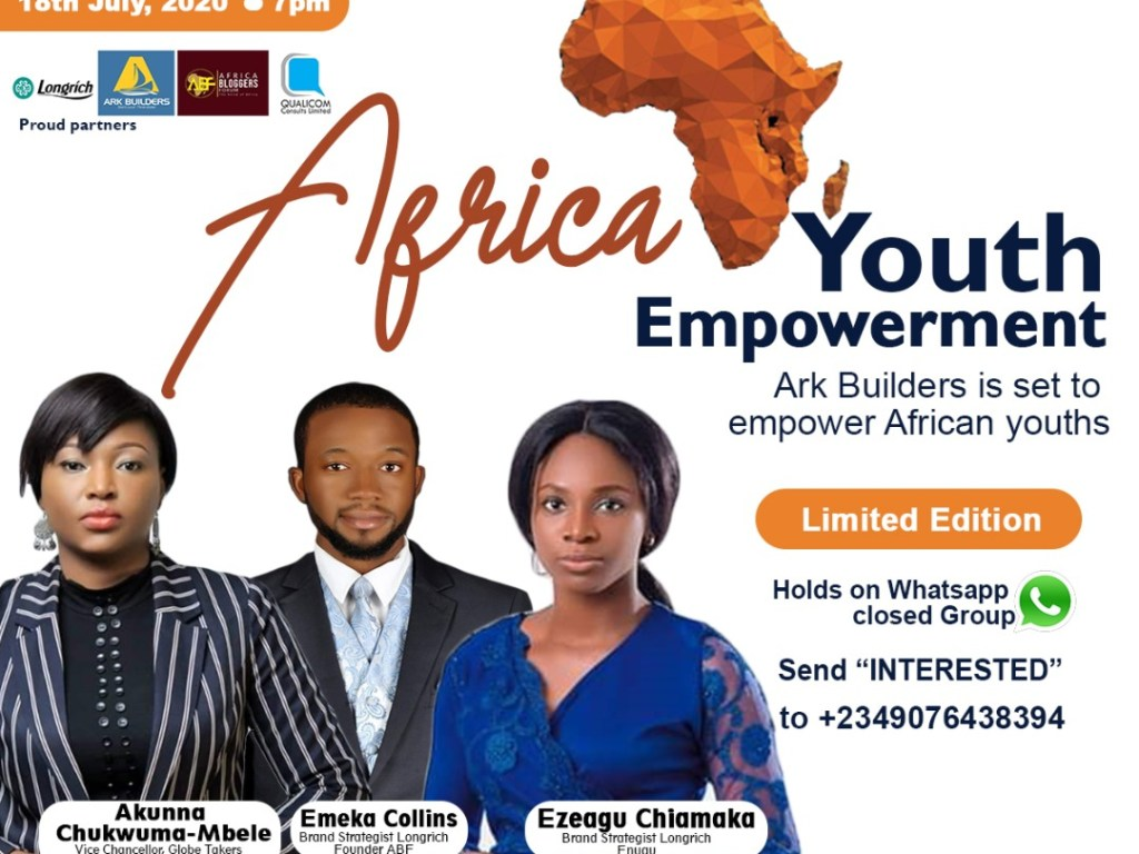 AFRICA YOUTH EMPOWERMENT 2020 (July special edition)