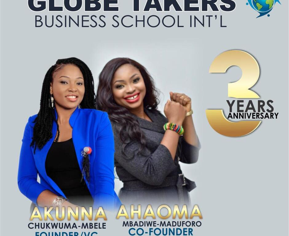 """All you need to know about Globe Takers Business School International and Why we celebrate our 3 Yrs Anniversary today""."