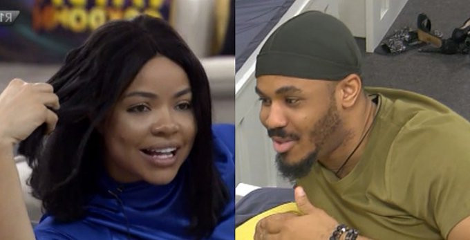 """#BBNaija: """"What's Ozo and Nengi discussing about 'stains' on his duvet? (video)"""