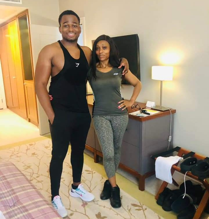 """Coding: """"This Nigerian mum and her son are being mistaken for a couple"""""""