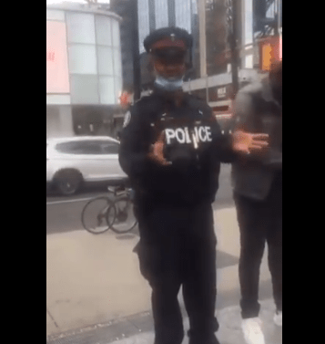 """""""…We need to pay police more…So, don't stop, don't give up."""" – Nigerian-Canadian police officer gives solution to police brutality in Nigeria"""