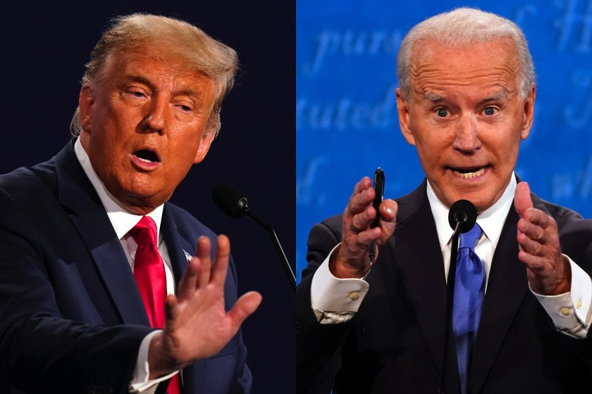 #PresidentialDebate2020: Watch Trump and Biden clash over Covid-19, corruption, climate and racism (VIDEOS)