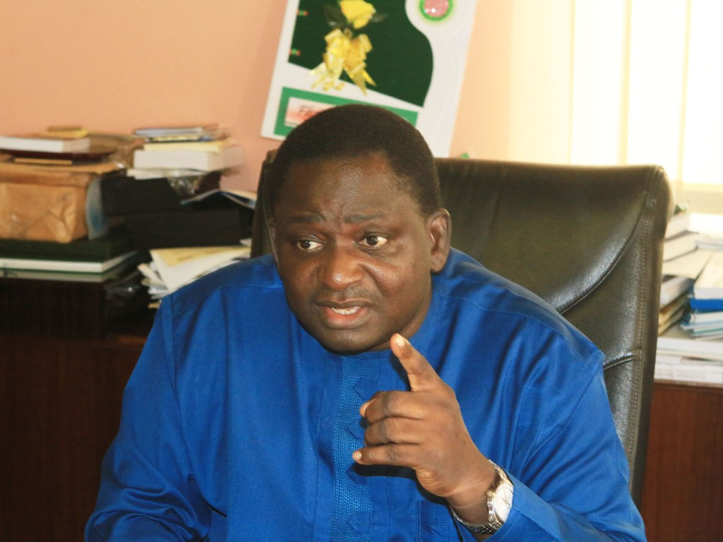 """Femi Adesina: """"Let's Be Thankful for Buhari as Nigeria used to record daily bombings"""""""