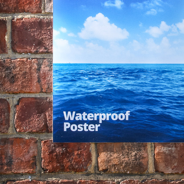 waterproof poster printing london