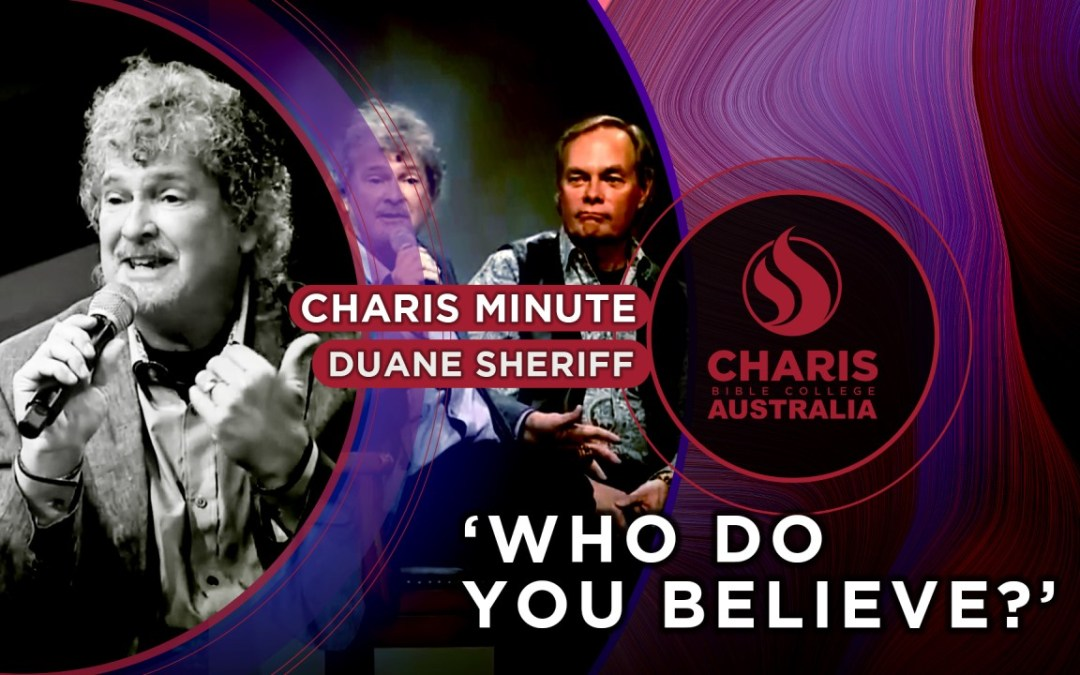 Who Do You Believe?