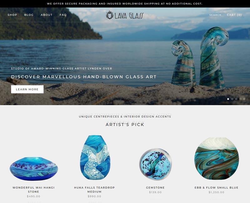 Charisma Digital Marketing Portfolio Lava Glass