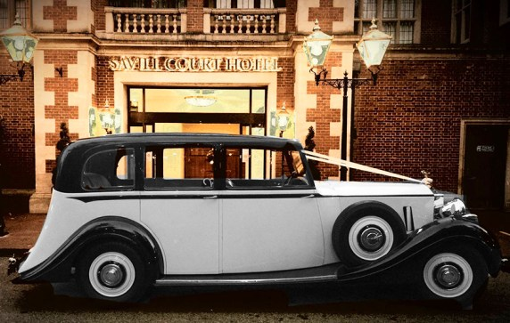 Rolls-Royce Wraith - 1939 - perfect wedding transport