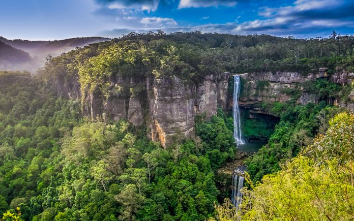 Belmore Falls New South Wales Australia Charismatic Planet