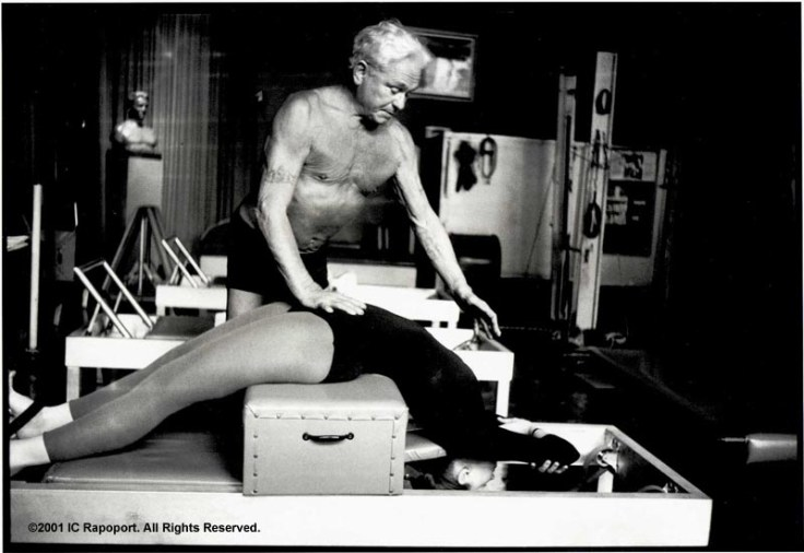 joseph-pilates-helping-student