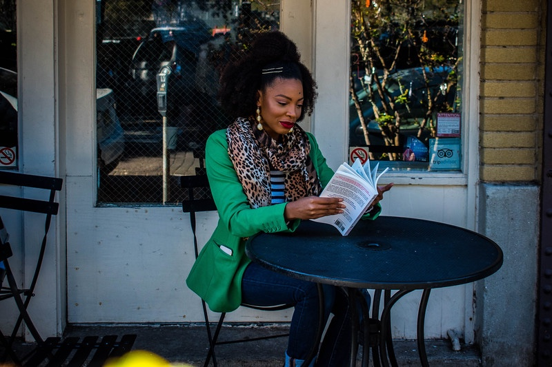 Layers, Prints, Textures for Fall plus a Few Good Reads