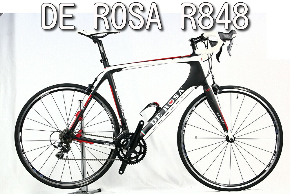 ロードバイク買取 DE ROSA R848 Carbon Black/Red