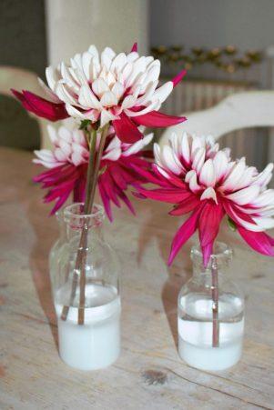 Crysanthemums. Karen Kennedy of Indigo Rye's cutting garden for Charis White blog