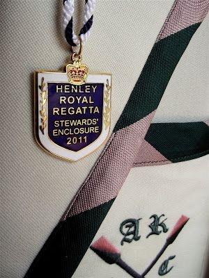 Auriol Kensington Rowing Club blazer: Charis White blog