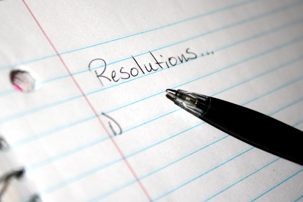 Best resolutions yet
